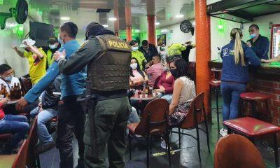 Balance de control y vigilancia de este 'finde' en Manizales