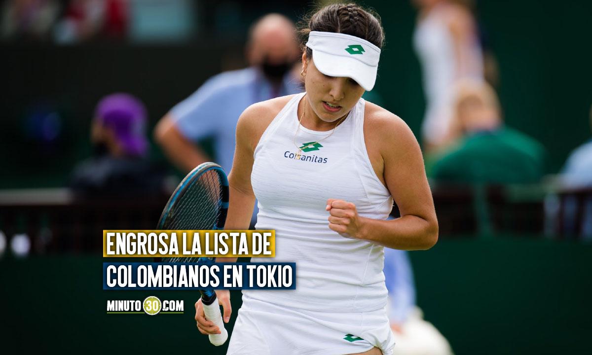 Maria Camila Osorio tambien representara a Colombia en los Juegos Olimpicos