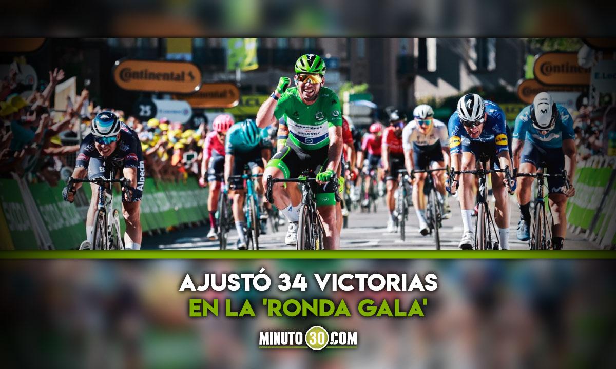 Mark Cavendish celebro de nuevo en el Tour de Francia 1