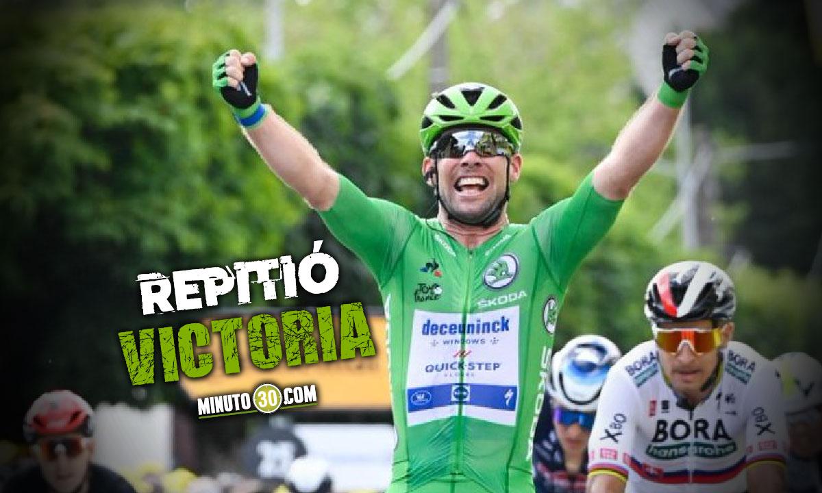 Mark Cavendish celebro de nuevo en el Tour de Francia