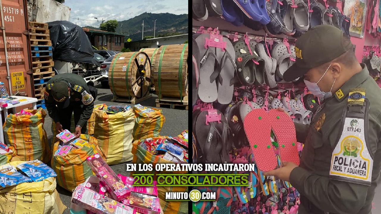 EN VIDEO: Más de 13. 500 artículos de contrabando fueron aprehendidos en el Valle de Aburrá - Noticias de Colombia
