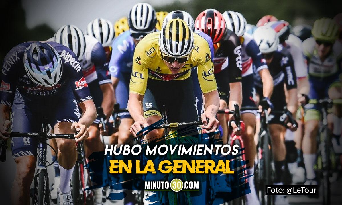 Matej Mohoric gano la etapa 7 del Tour de Francia