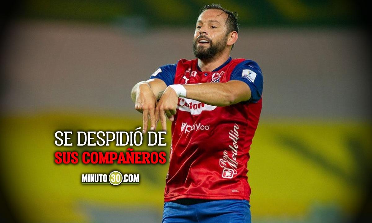 Matias Mier saldria de Independiente Medellin