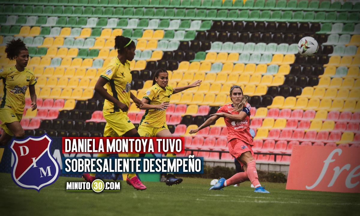 Medellin femenino celebro en Liga en Bucaramanga gano 2 0