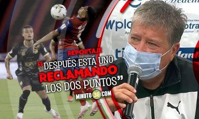 Medellin fue superior pero el resultado borra todo Hernan Dario Gomez