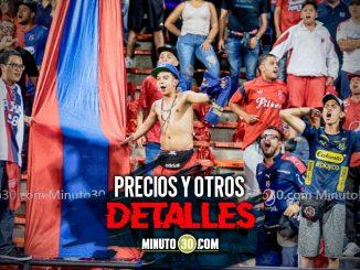 Medellin saco a la venta boleteria para partido con Junior