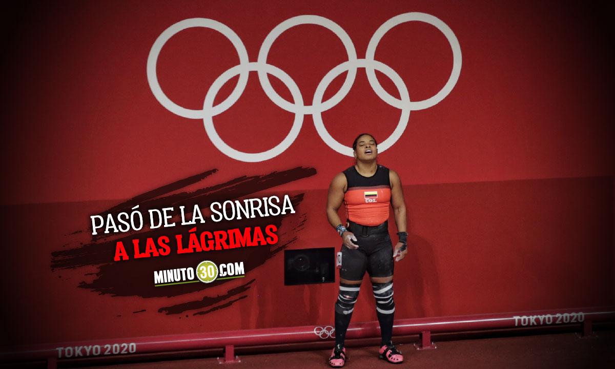 Mercedes Perez y una medalla que se escapo por poco