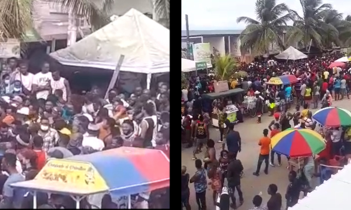 [Video] Represamiento de migrantes en Necoclí, Antioquia