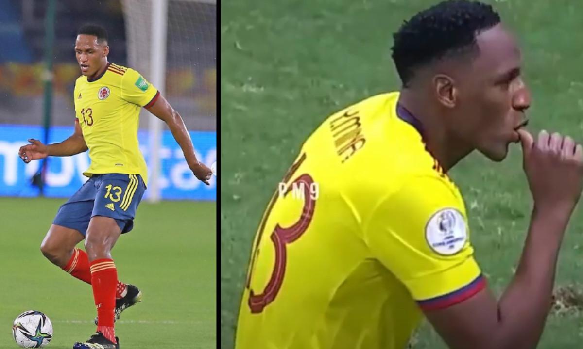 [Video] La curiosa celebración de Mina al anotar el gol
