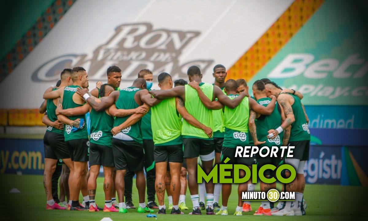 Nacional recupera jugador de cara a amistoso con Envigado FC