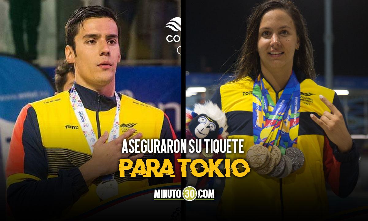 Nuevos clasificados por Colombia para los Juegos Olimpicos
