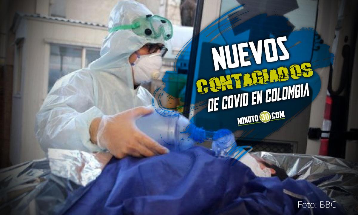Covid en Colombia: hoy reportaron 11.048 nuevos contagiados