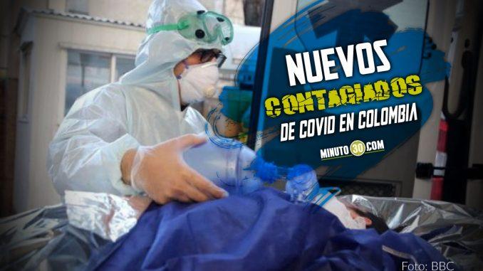 Covid en Colombia: hoy confirmaron que 9.462 personas se contagiaron del virus