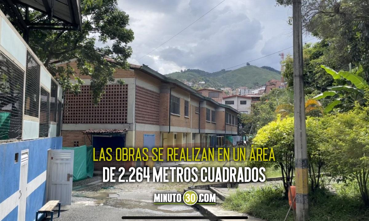 Obras de ampliacion de la institucion educativa Capilla del Rosario superaron el 67 de ejecucion