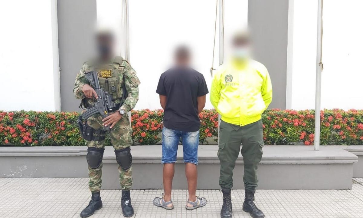 Cogieron a hombre acusado de robar y quemar un peaje en Urabá