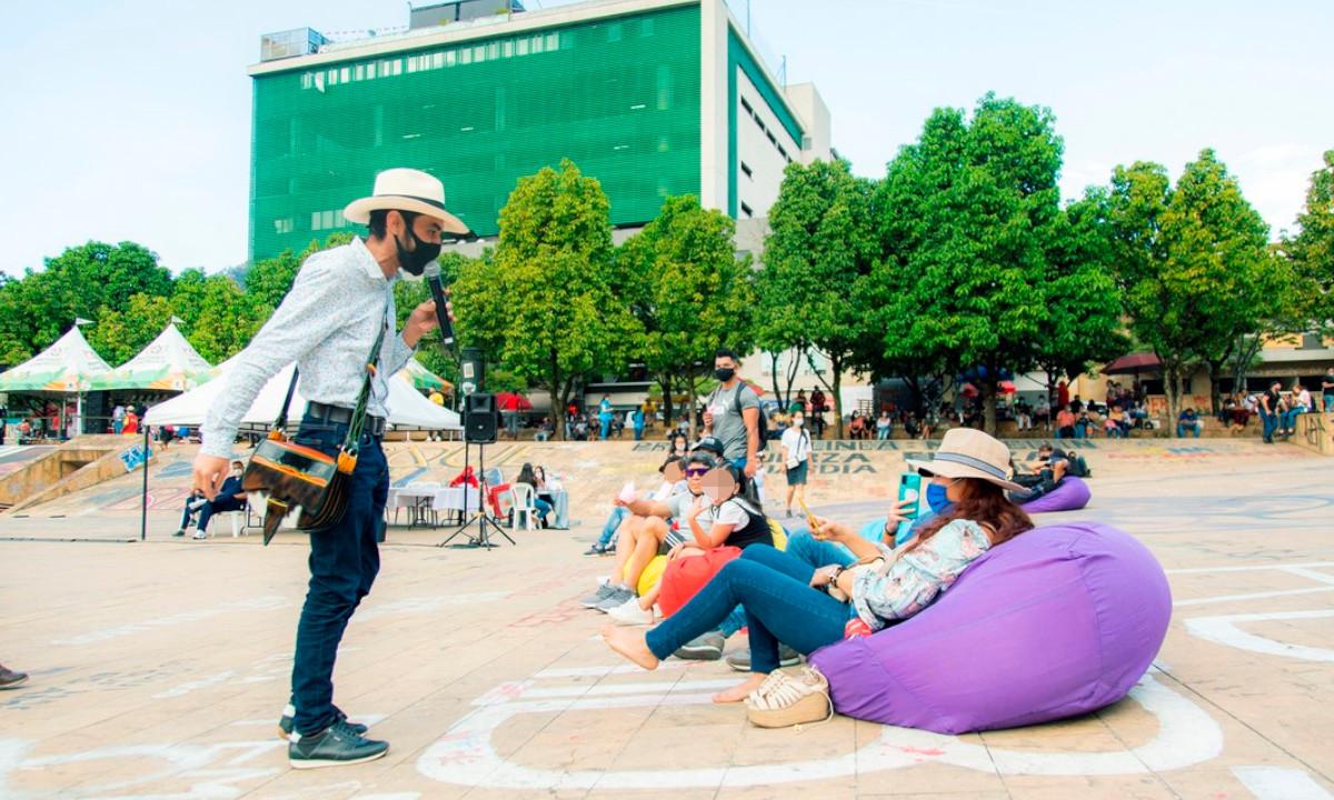 ¡Qué nota! Un bonito encuentro cultural se vivió en el Parque de los Deseos