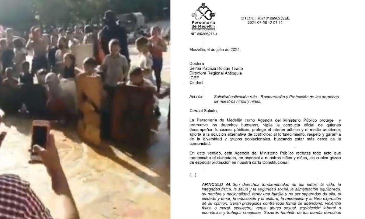 Personería Medellín pide que investiguen a los papás de los integrantes de la 'Primera Línea'