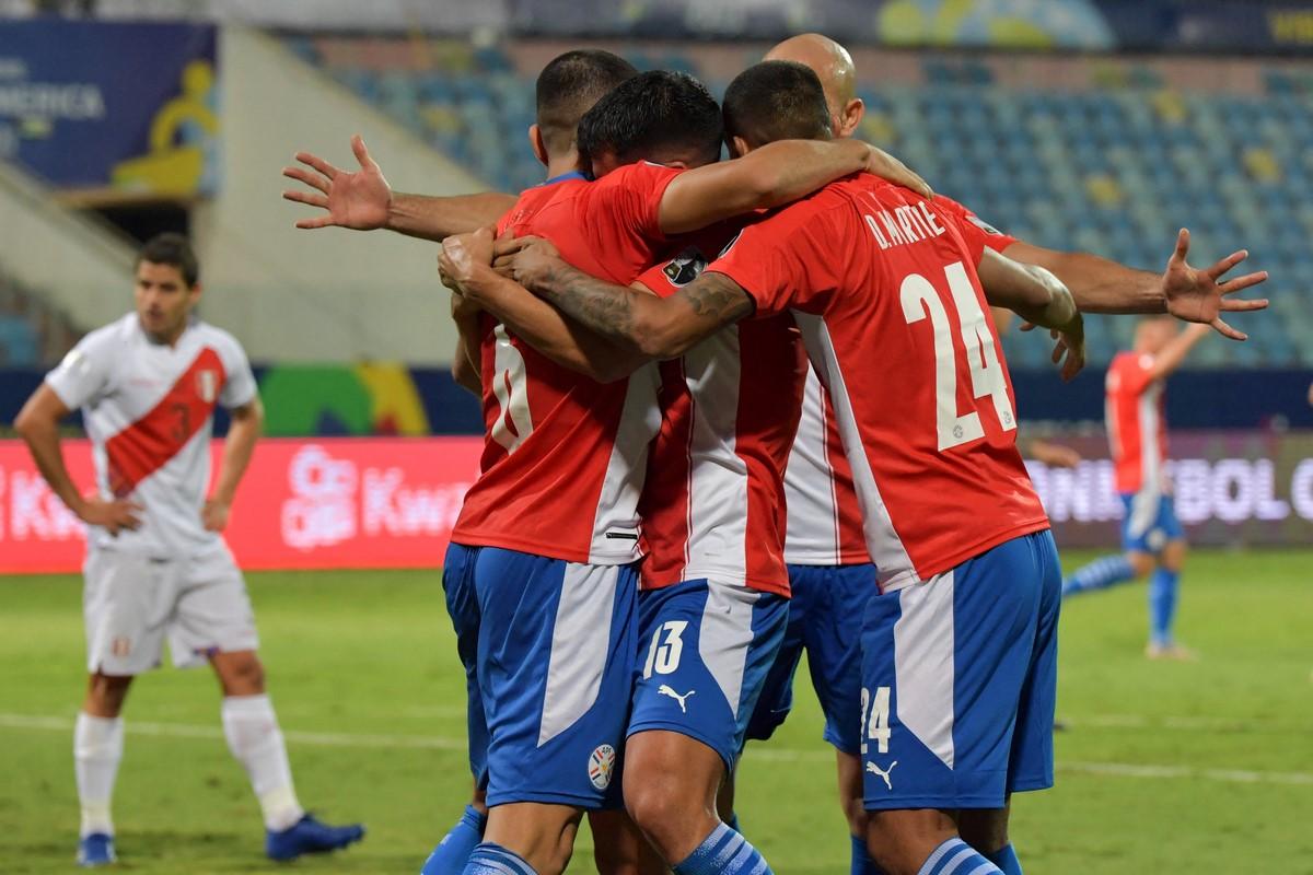 Peru Vs Paraguay 1
