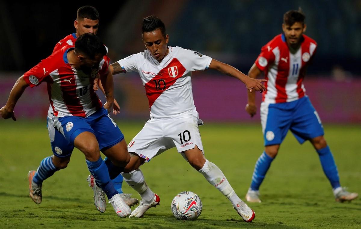 Peru Vs Paraguay 2