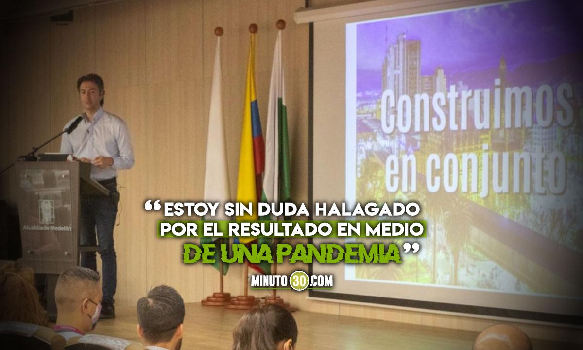 Plan de Desarrollo de Medellín tiene un 94% de cumplimiento