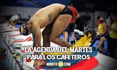 Programacion de los deportistas colombianos en Juegos Olimpicos
