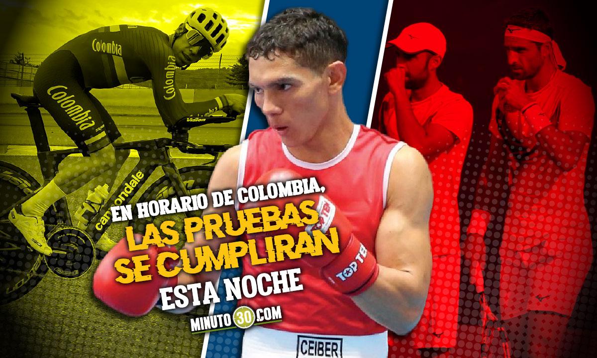 Programacion de los deportistas colombianos en la sexta jornada de Juegos Olimpicos 2 1