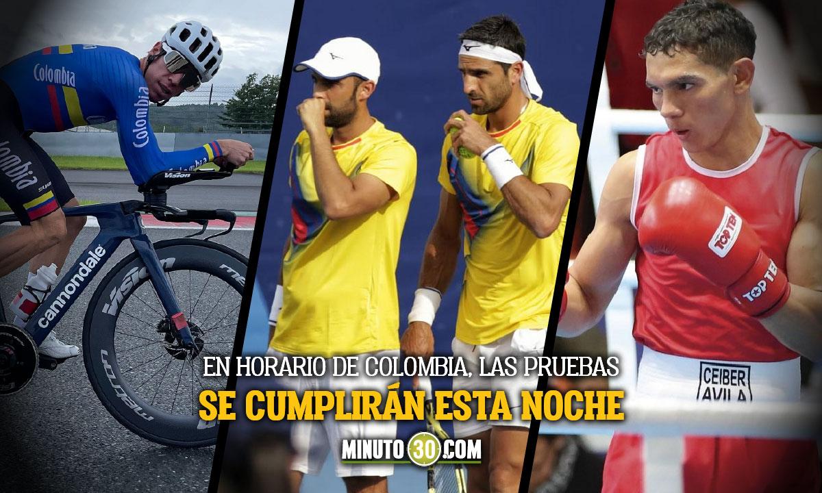 Programacion de los deportistas colombianos en la sexta jornada de Juegos Olimpicos 2