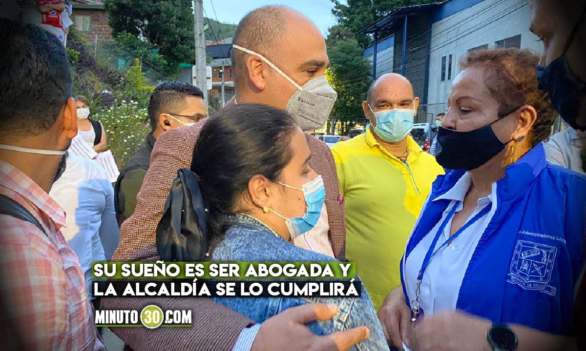 Alcaldía de Bello apoyará a joven que perdió su familia