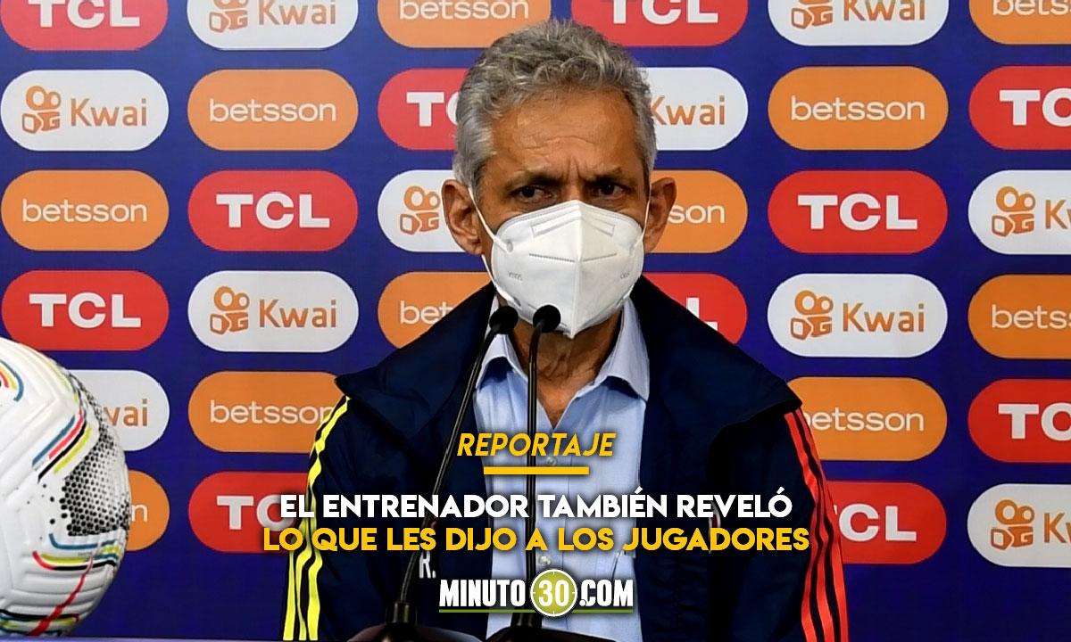 Reinaldo Rueda le envio mensaje a los colombianos tras derrota ante Argentina