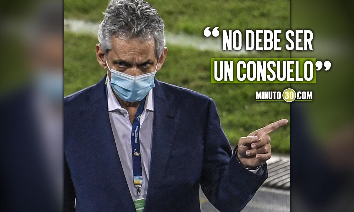 Reinaldo Rueda no quiere que le quiten merito al tercero de la Copa