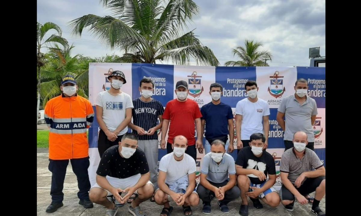 Rescataron 11 migrantes en el Golfo de Urabá