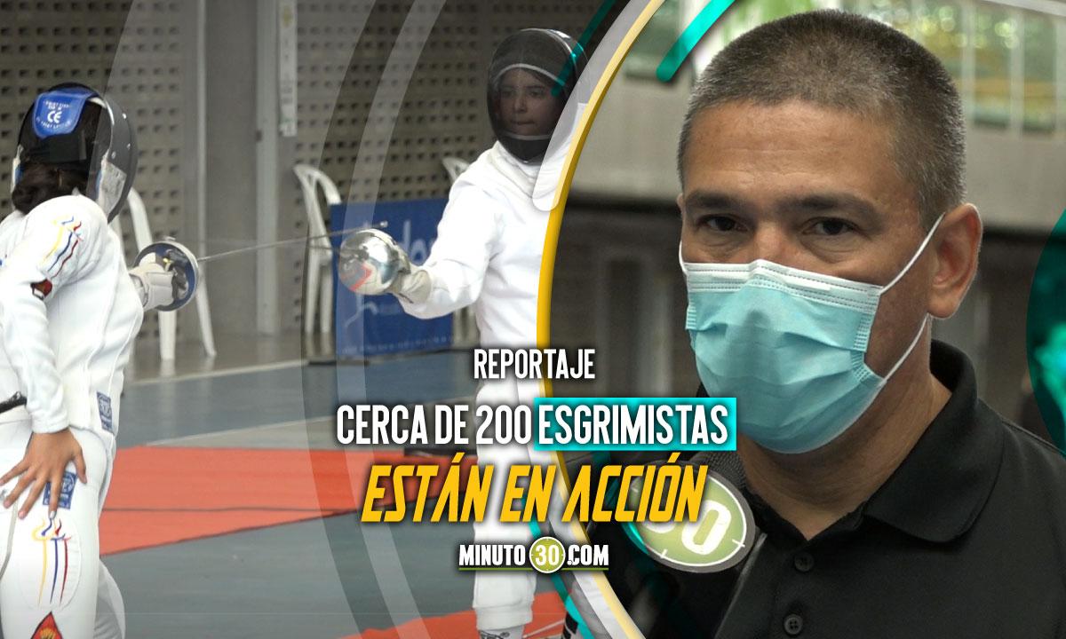 Segunda Copa Nacional de Esgrima este fin de semana en Medellin