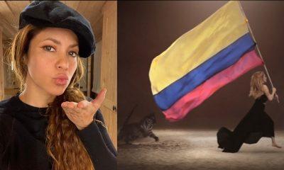 Así celebró Shakira la clasificación de la selección Colombia