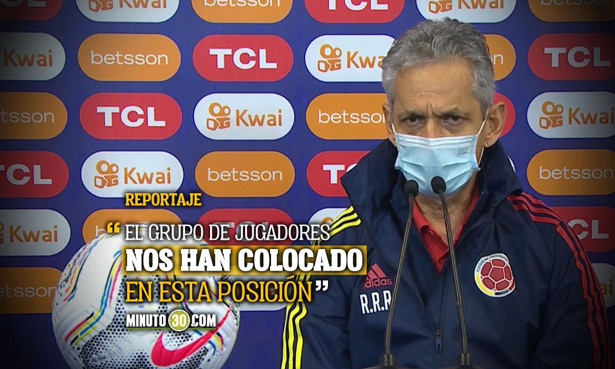 Tenemos el compromiso y el desafio de llegar a la final Reinaldo Rueda