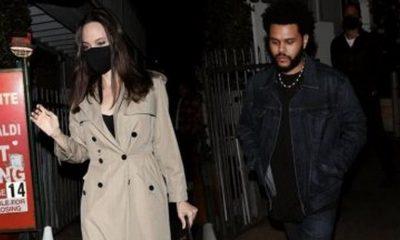 The Weeknd angeluna jolie