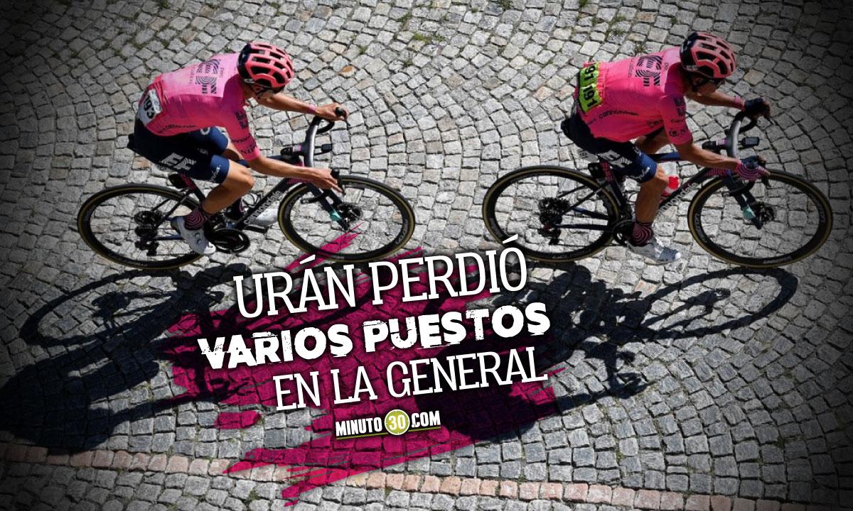 Tres ciclistas colombianos se mantienen ente los veinte primeros del Tour