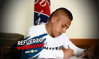 Vladimir Hernandez firmo contrato con Independiente Medellin