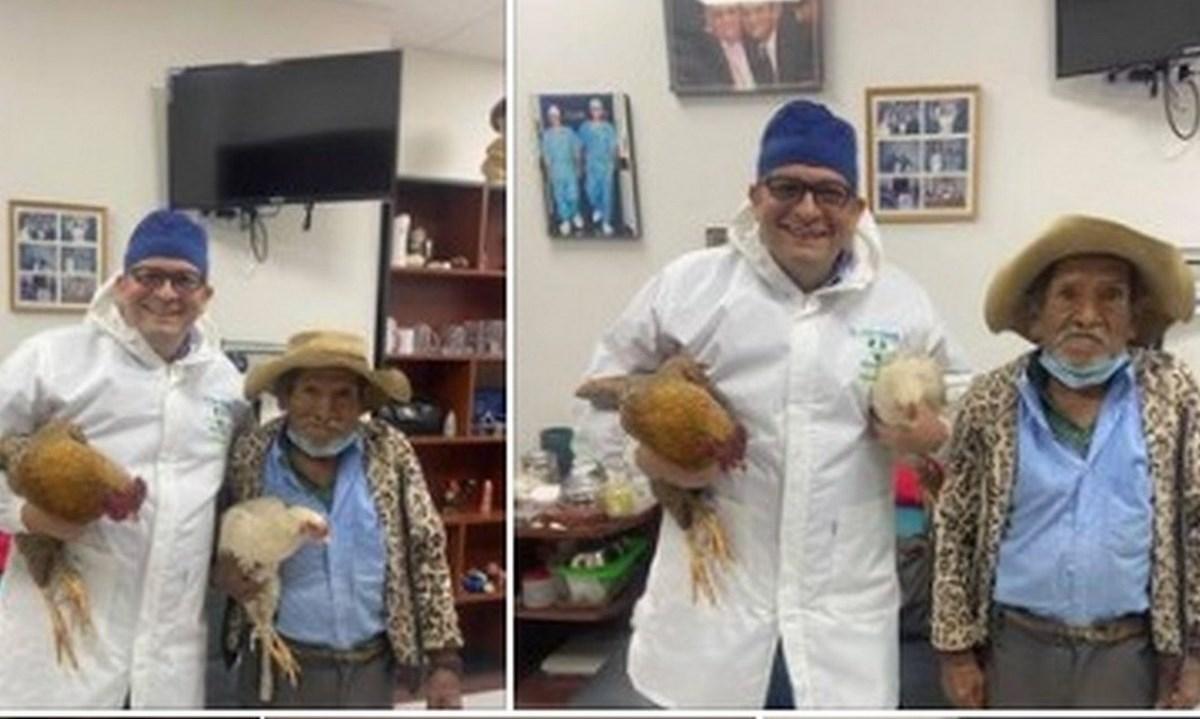 abuelo gallinas prostata medico
