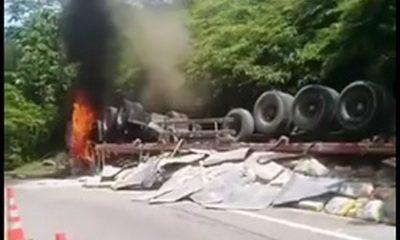 accidente via Antioquia