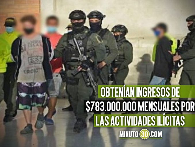 Cayó 'La Bocana', capturaron a 16 presuntos integrantes