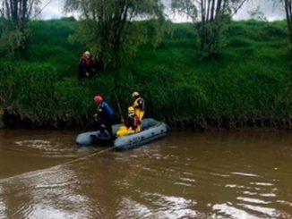 adolescente cayo en el rio Bogota