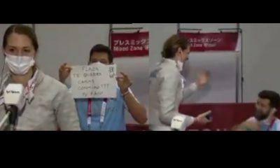 ¡Amor olímpico! Entrenador le propuso matrimonio a deportista en Tokio