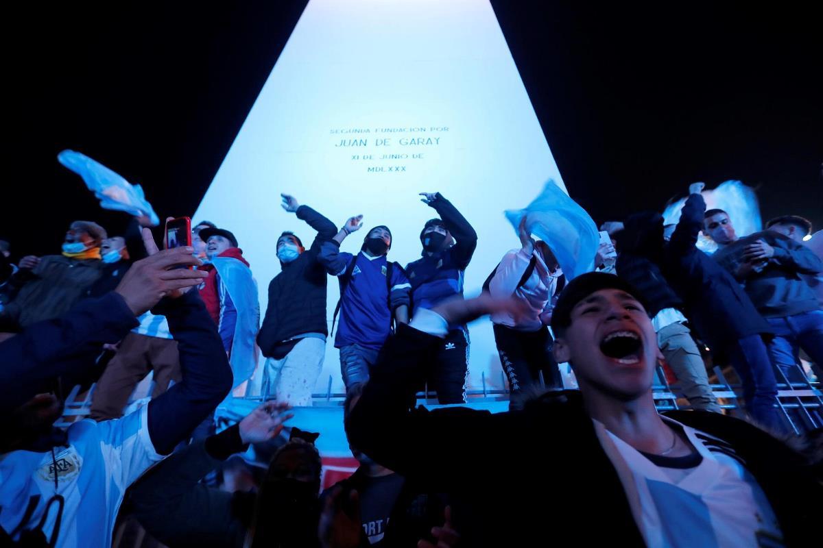 argentina celebracion