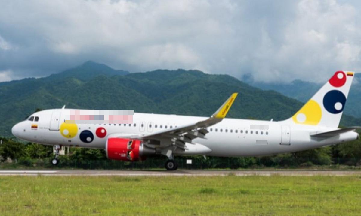 Pánico al interior de un avión que tenía la ruta Santa Marta - Medellín