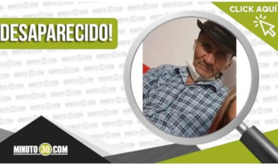 Bernardo Augusto Ciro Marín tiene 78 años y está desaparecido
