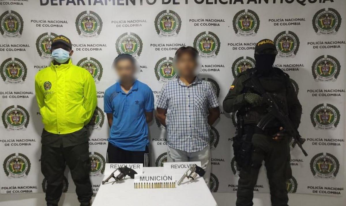 Tenían de a revólver y los cogieron en Ciudad Bolívar