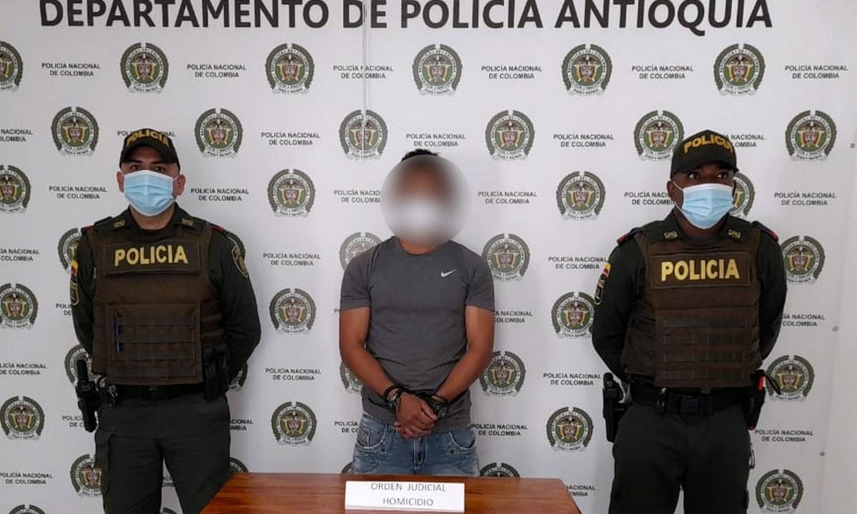 Capturado mediante orden judicial por homicidio en Betulia