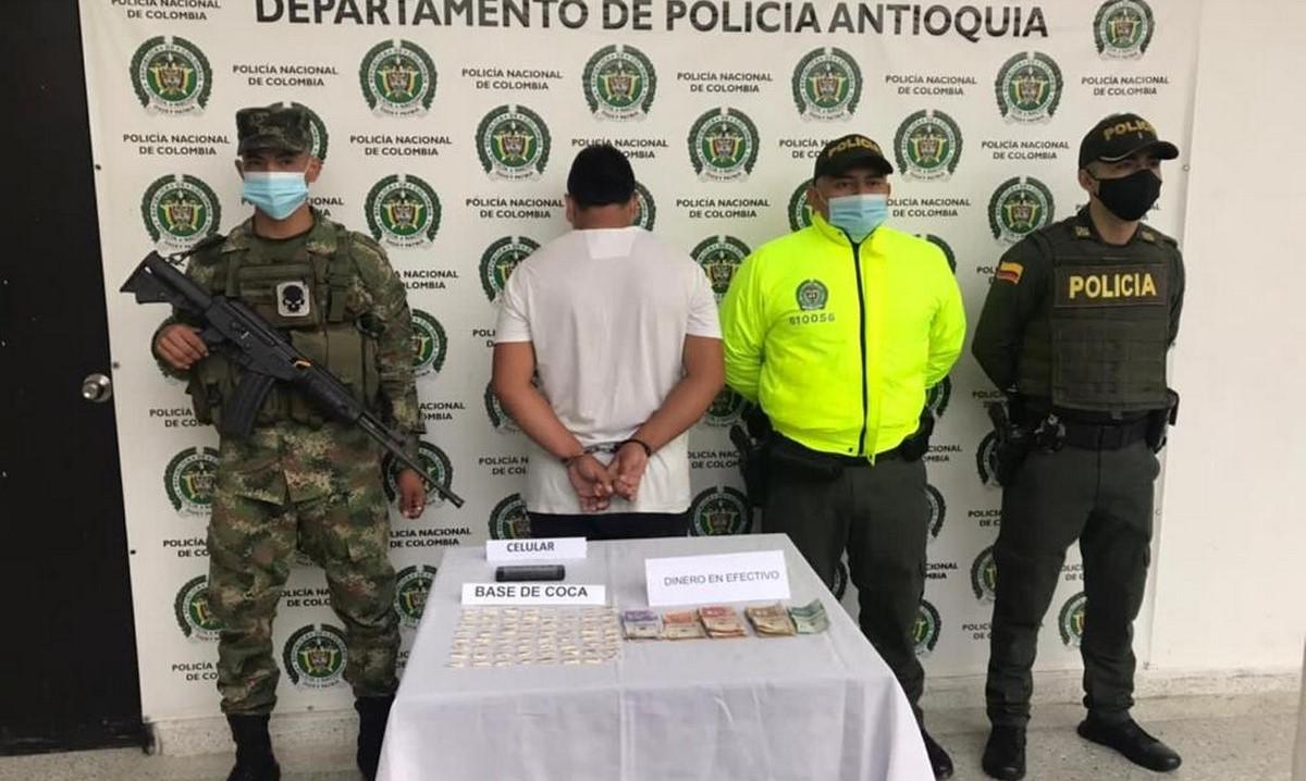 Capturaron a presunto expendedor de droga en Cisneros
