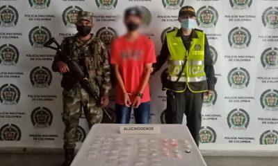Capturaron a presunto expendedor de droga en Ciudad Bolívar
