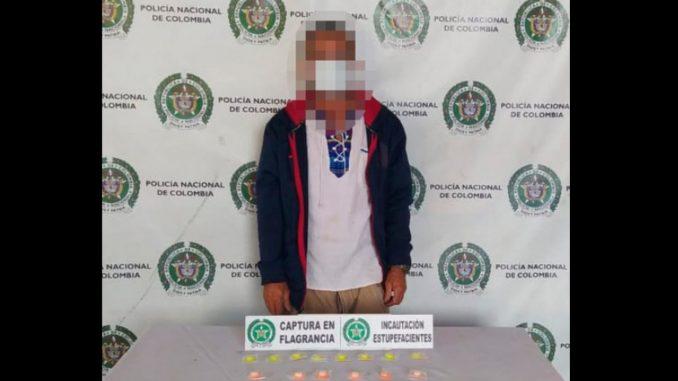 Esta tarde capturaron cuatro 'pelaos' por andar con droga en las calles de Medellín